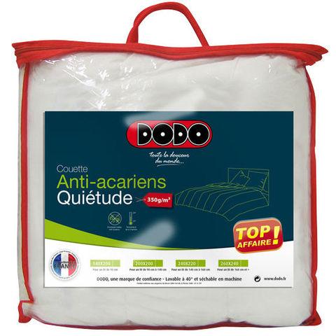 Couette DODO anti-acariens à -50% - plusieurs tailles par exemple 140x200