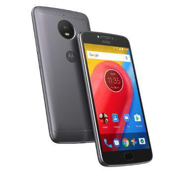 "Smartphone 5"" Motorola Moto E4 Gris - HD, MT6737, RAM 2 Go ROM 16 Go"