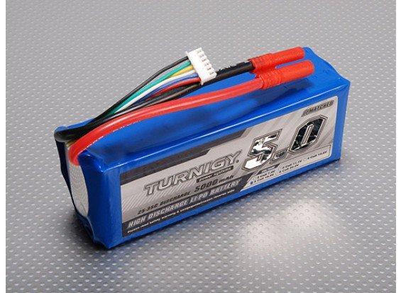 Sélection de batteries en promotion - Ex: Batterie Turnigy 5S 25C Lipo Pack - 5000mAh (frais de port compris)