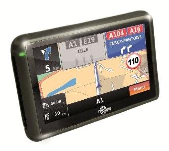 GPS Mappy Iti E408 Europe - Cartes à vie gratuite