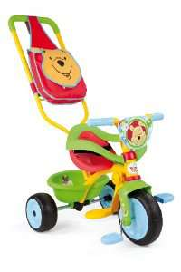 Tricycle Smoby Be Move Comfort Winnie l'ourson