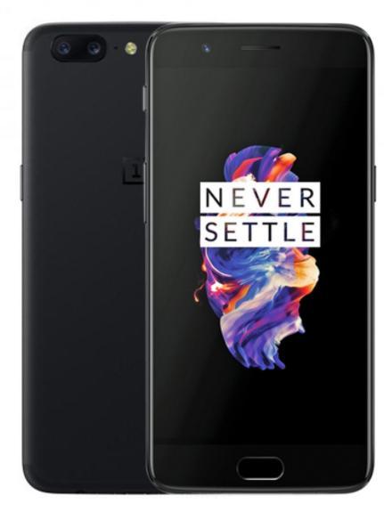 "Smartphone 5.5"" OnePlus 5 - Full HD, Dual Sim, Snapdragon 835, 8 Go RAM , 128 Go ROM (avec B20 / B28)"
