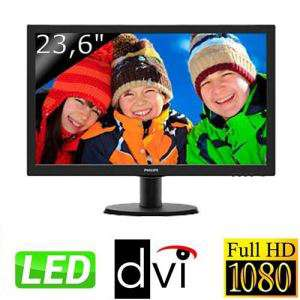 "Ecran PC 23.6"" Philips 243V5LSB Full HD (100.41€ via Buyster)"