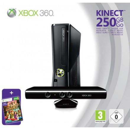 Sélection de packs console Xbox 360 en promotion - Ex : Xbox 360 250 Go + Kinect + Kinect Adventures
