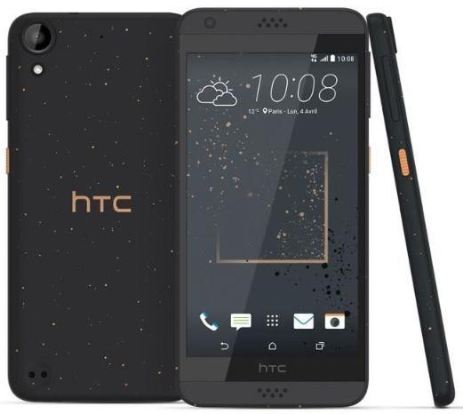 """Smartphone 5"""" HTC Desire 530 Remix (Coloris au choix) - HD, RAM 1.5Go, 16Go, Quad-core MSM8909, Android 6.0 (Via ODR 40€)"""