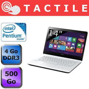PC portable Tactile Sony Vaio SVF1421D4EW