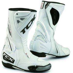 Bottes moto TCX S Race Air Blanches