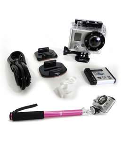 Pack caméra GoPro Hero1 + Support Big U-Shot - Reconditionné