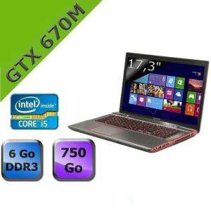 PC portable Toshiba Qosmio X870-165 i5-3230M NVIDIA GeForce GTX 670M