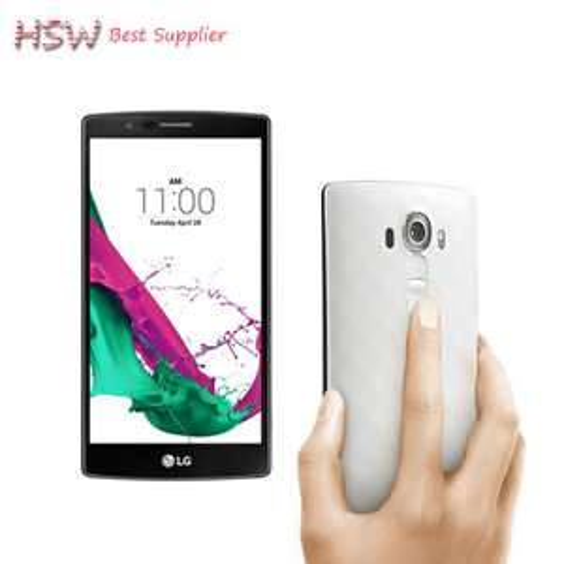 "Smartphone 5.5"" LG G4 H810 - SnapDragon 808, 3 Go de RAM, 32 Go, bleu, sans B20 (Reconditionné)"