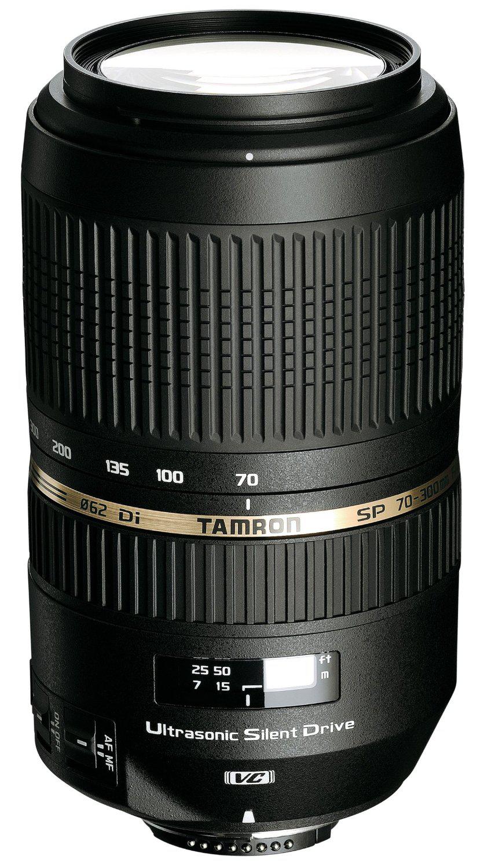 Objectif Tamron 70-300mm F/4-5,6 Di VC USD - Monture Canon, Nikon ou Sony