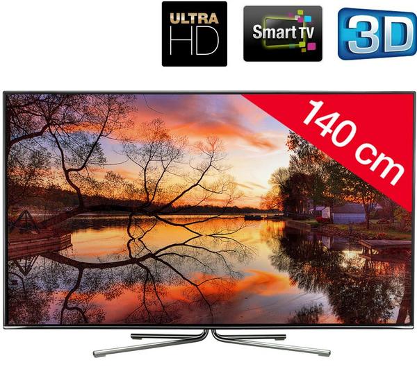"""TV Ultra HD  55"""" 3D Changhong 55B6000, Smart TV"""