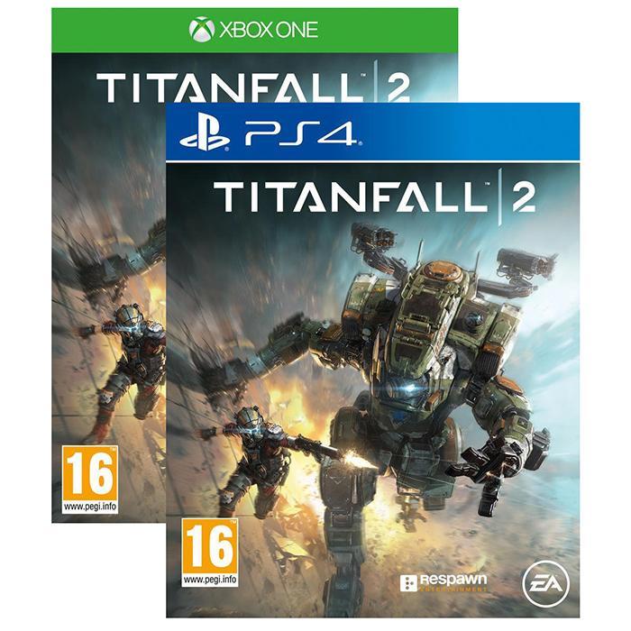 Titanfall 2 sur PS4 et Xbox One en ligne et en magasin