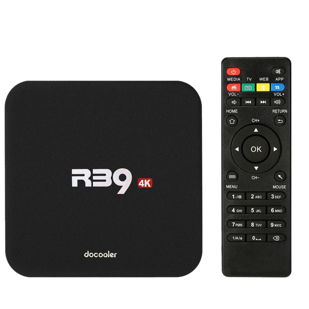 Box TV Docooler R39 - 4K, Android 6.0, RK3229, RAM 1 Go, ROM 8 Go