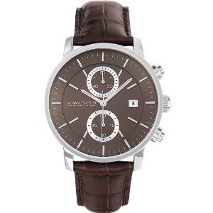 Montre analogique quartz La Manufacture MX5304NH1 - Bracelet Cuir Marron