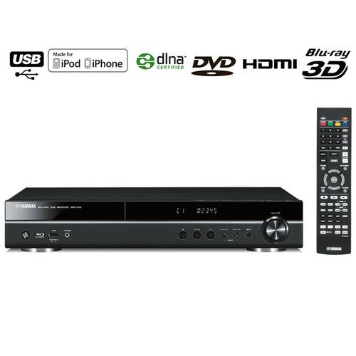 Ampli 5.1 avec lecteur Blu-ray 3D intégré Yamaha BRX-610