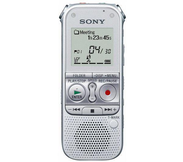 Dictaphone numérique Sony ICD-AX412FS - 2Go, microSDHC