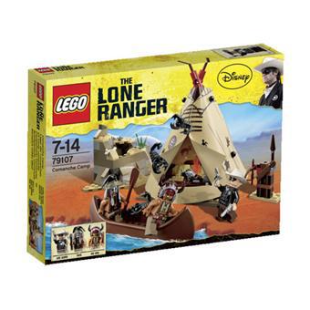 Lego Lone Ranger - le camp comanche 79107