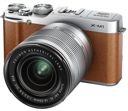 Kit Hybride Fujifilm X-M1 Marron + Objectif XC 16-50 mm F/3.5-5.6