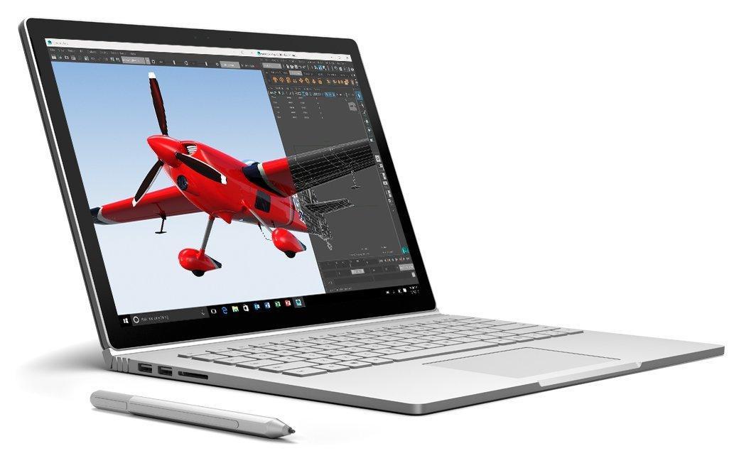"Tablette 13.5"" Microsoft Surface Book - i7-6600U, 16 Go de RAM, SSD 512 Go avec stylet"