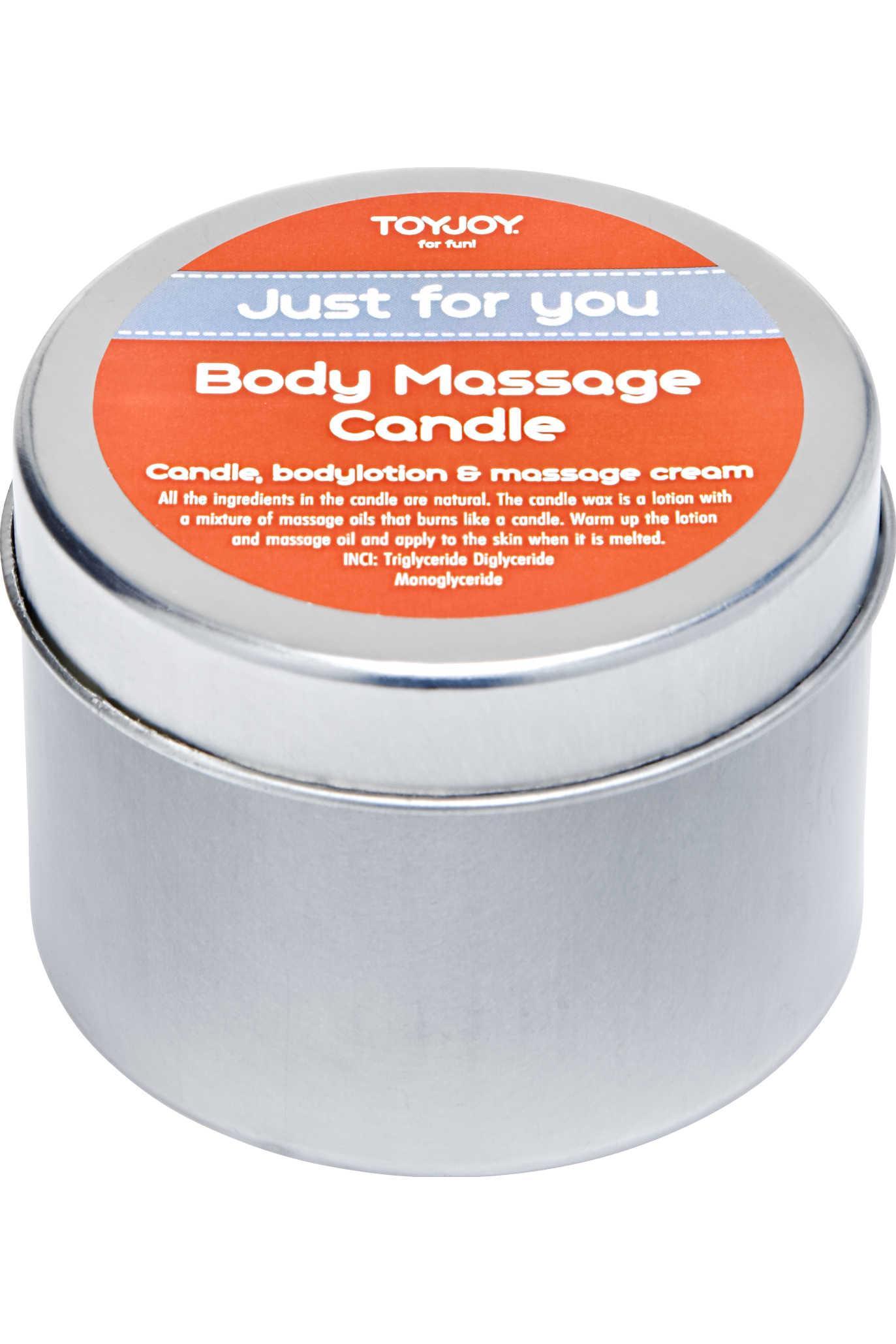 Bougie de massage Toyjoy 80ml + boite de 6 préservatifs gratuits