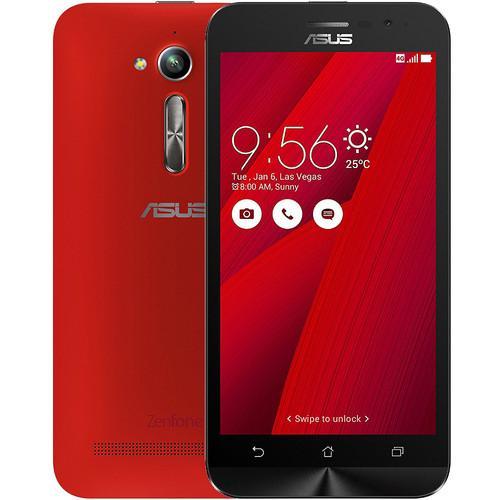 """Smartphone 5"""" Asus Zenfone Go (G500KL) - 2 Go RAM, 16 Go, Rouge"""