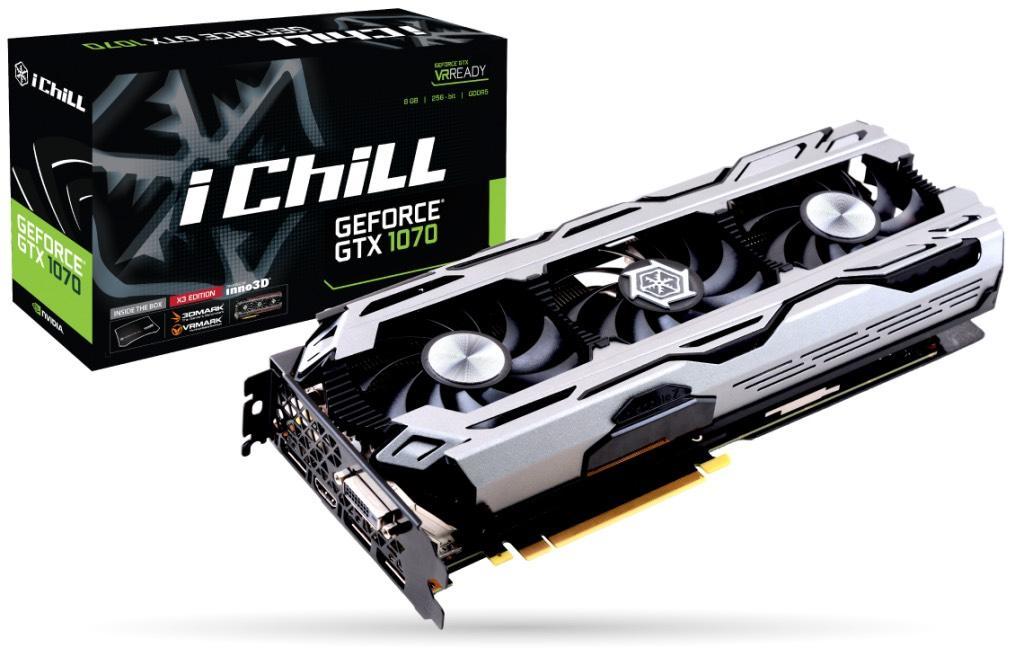7% de réduction immédiate sur le produit le plus cher du panier - Ex: Carte Graphique Inno3D iChill GeForce GTX 1070 X3 à 388.69€