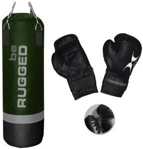 Set sac de frappe Hammer Be Rugged et gants de boxe