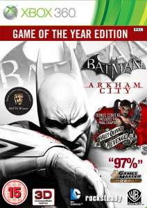 Batman: Arkham City: Game of the Year Edition Xbox 360 et Ps3