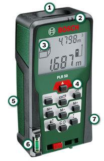 Télémètre laser Bosch PLR 50 + sacoche