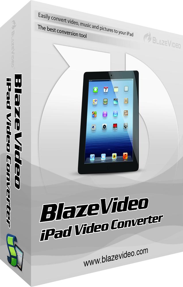 Logiciel BlazeVideo iPad Video Converter V4.0 gratuit