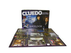 Jeu de société Hasbro Cluedo Sherlock Holmes