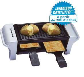 Raclette grille duo Techwood TRD22