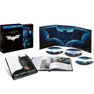 The Dark Knight Trilogy Coffret 5 Blu-ray + Livre