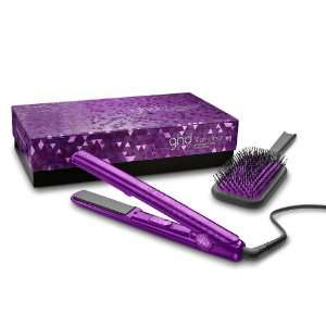 Fer à Lisser + Brosse GHD Styler Jewel Collection Améthyste