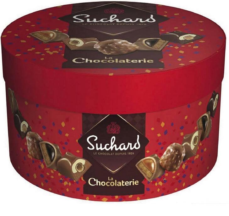 """Assortiments de chocolats """"la chocolaterie de Suchard"""", 380gr"""