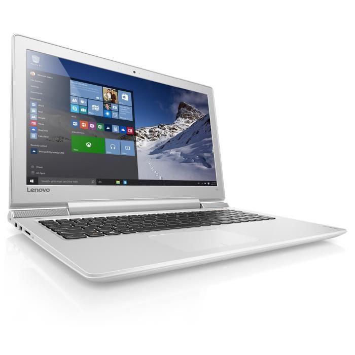 "PC Portable 15.6"" Lenovo Ideapad 700-15ISK - Full HD, i5 6300HQ, RAM 4Go, SSD 128Go, GTX-950M, 4Go, Windows 10"