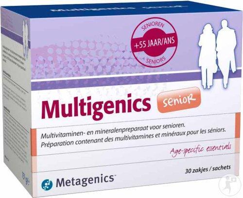 Vitamines D offertes dès 2 produits achetés + Promotions - Ex: Boîte de 30 Sachets de Compléments Metagenics Multigenics Senior