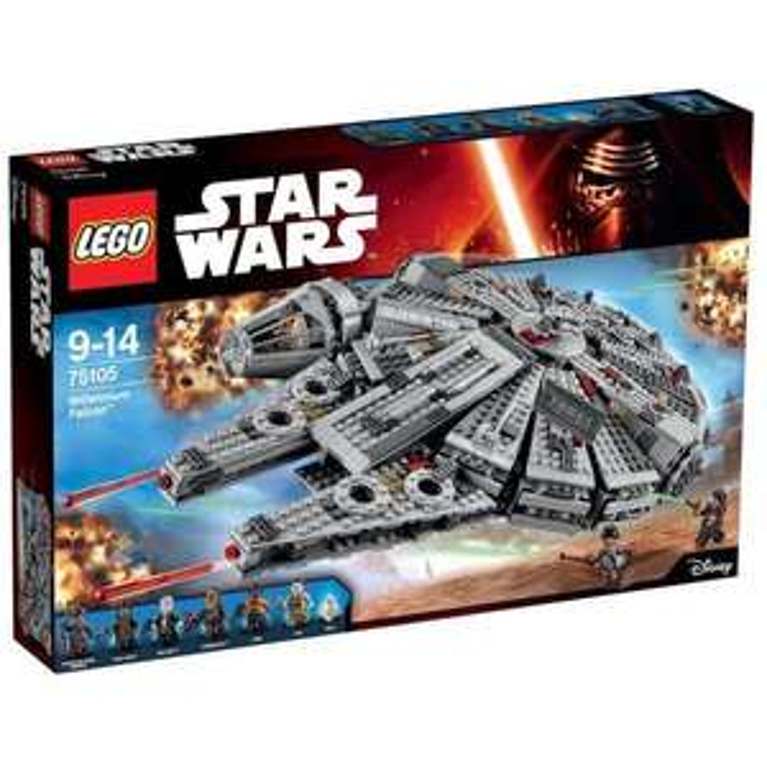 Jeu de construction Lego Star Wars Faucon Millenium 75105