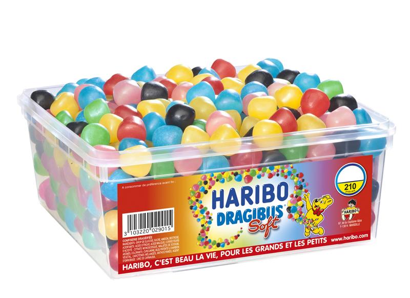 Promotions sur les bonbons Haribo - Ex: Boite de 210 Dragibus Soft