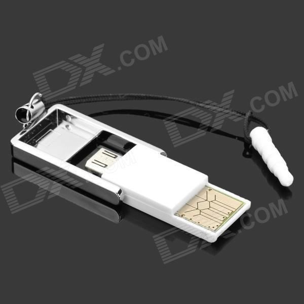 Lecteur micro SD pour port micro USB et USB  OTG