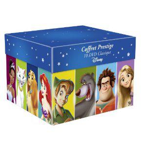Coffret Grands Classiques Disney - 10 DVD