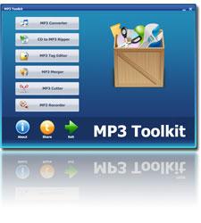 Logiciel MP3 Toolkit gratuit jusqu'à Noël