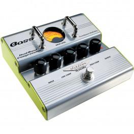 Pédale d'effet pour guitare basse Dual Band Comporessor