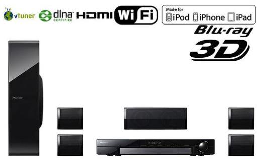 Home Cinéma 5.1 Blu-Ray Wi-Fi Pioneer MCS-434