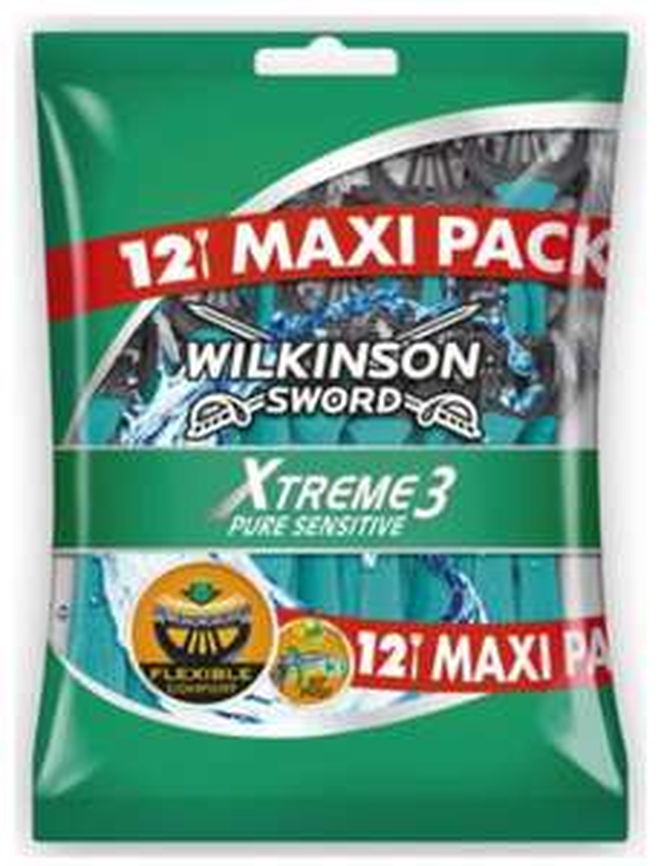 Lot de 12 Rasoirs Jetable Wilkinson Xtreme 3