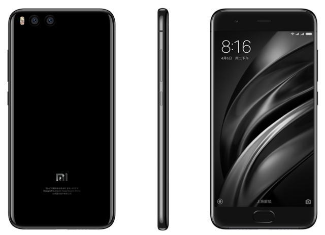 """Smartphone 5.15"""" Xiaomi Mi6 - Full HD, Snapdragon 835, RAM 6 Go, ROM 64 Go, Noir ou Blanc (Sans B20)"""
