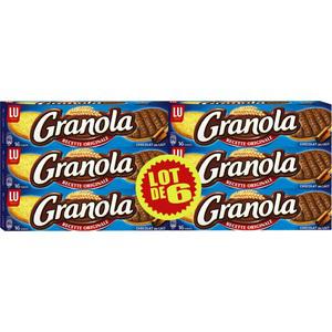 Lot de 6 paquets de Granola LU