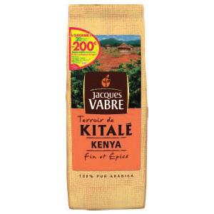 3 paquets de Café Jacques Vabre Terroir