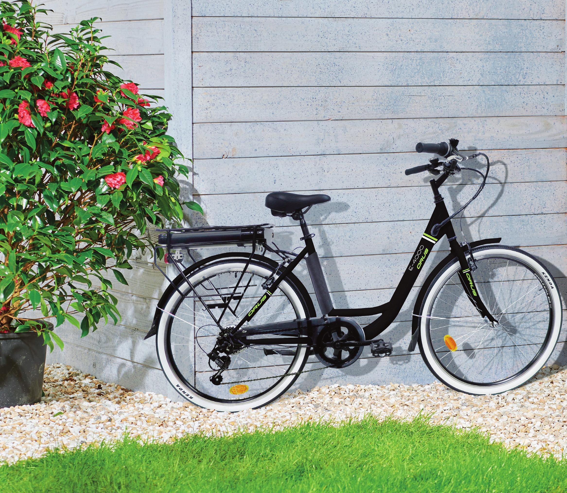 """Vélo de Ville 26"""" E-4000ÉLO à Assistance Electrique"""